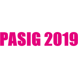 PASIG 2019 conference logo